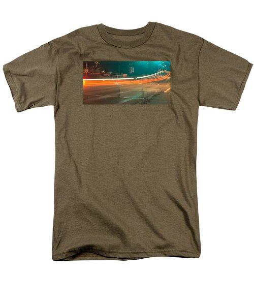 Ghostly Cars Men's T-Shirt  (Regular Fit) by John Rossman