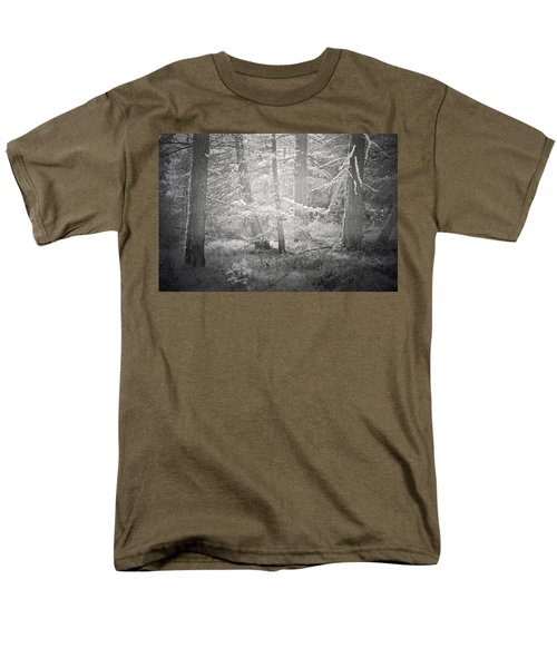 Men's T-Shirt  (Regular Fit) featuring the photograph Ghosts Of The Forest 3 by Tara Turner