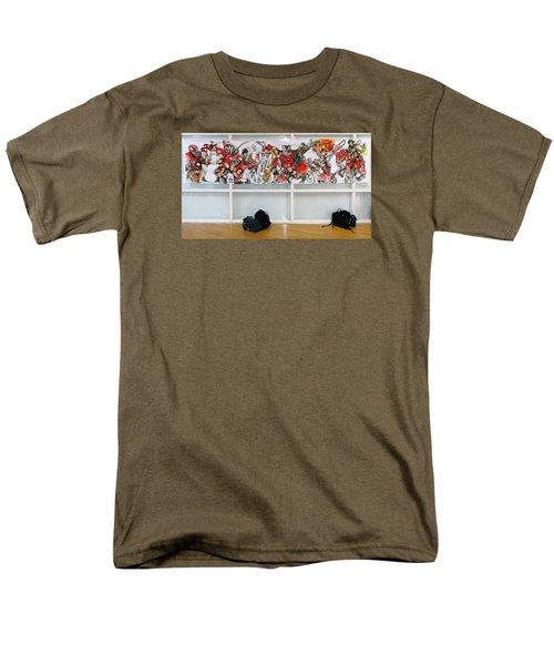 Ghsa Art Banner Prototype Men's T-Shirt  (Regular Fit) by John Jr Gholson
