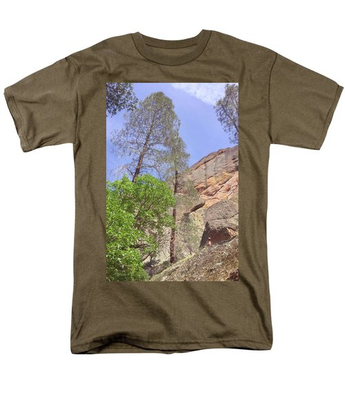 Men's T-Shirt  (Regular Fit) featuring the photograph Giant Boulders by Art Block Collections
