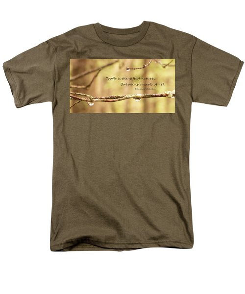 Gift Of Art Men's T-Shirt  (Regular Fit)