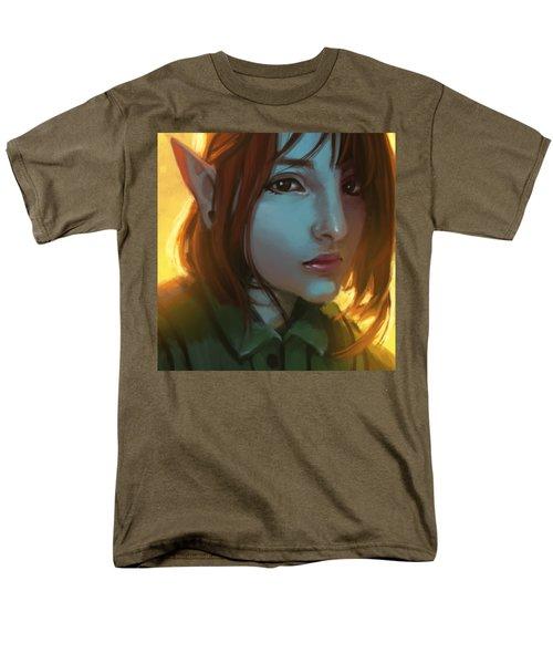 Giovana The Elf Men's T-Shirt  (Regular Fit) by Leonardo Batista Torres