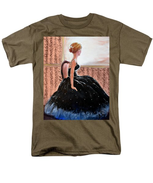 Girl In The Sequin Gown Men's T-Shirt  (Regular Fit) by Gary Smith