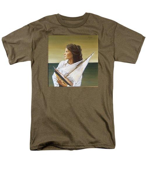 Girl Men's T-Shirt  (Regular Fit)