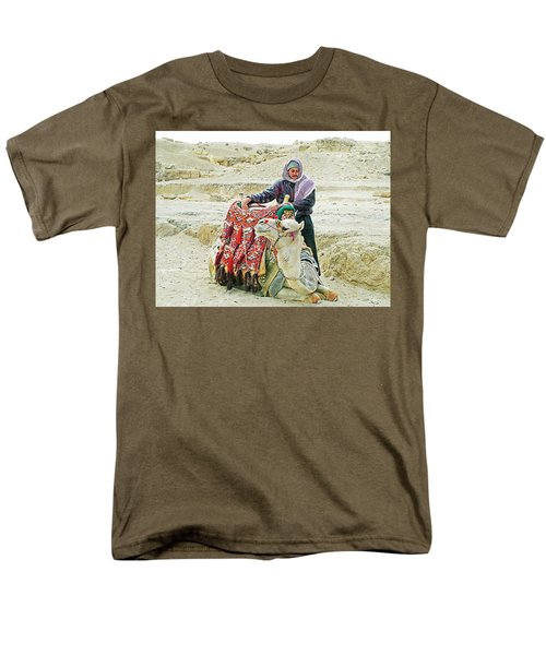 Giza Camel Taxi Men's T-Shirt  (Regular Fit) by Joseph Hendrix