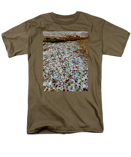 Glass Beach Men's T-Shirt  (Regular Fit) by Amelia Racca