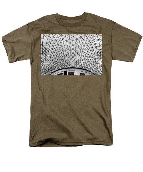 Men's T-Shirt  (Regular Fit) featuring the photograph Glass Ceiling by MGL Meiklejohn Graphics Licensing