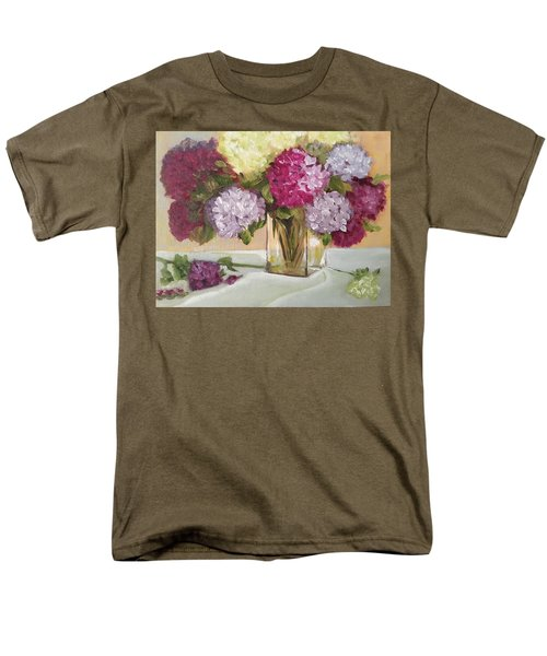 Men's T-Shirt  (Regular Fit) featuring the painting Glass Vase by Sharon Schultz
