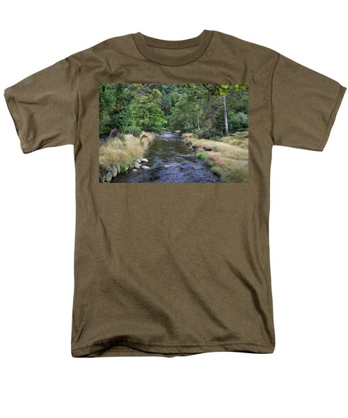 Men's T-Shirt  (Regular Fit) featuring the photograph Glendasan River. by Terence Davis