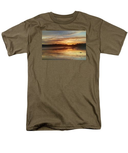 Long Beach I, British Columbia Men's T-Shirt  (Regular Fit) by Heather Vopni