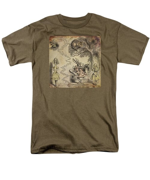 Go Ask Alice Men's T-Shirt  (Regular Fit) by Diana Boyd