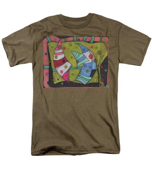 Going In Circles Men's T-Shirt  (Regular Fit) by Sandra Church