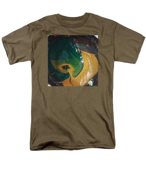 Gojira Basking By The Docks In Delhi Men's T-Shirt  (Regular Fit) by Gyula Julian Lovas