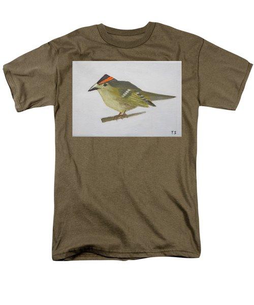 Goldcrest Men's T-Shirt  (Regular Fit) by Tamara Savchenko