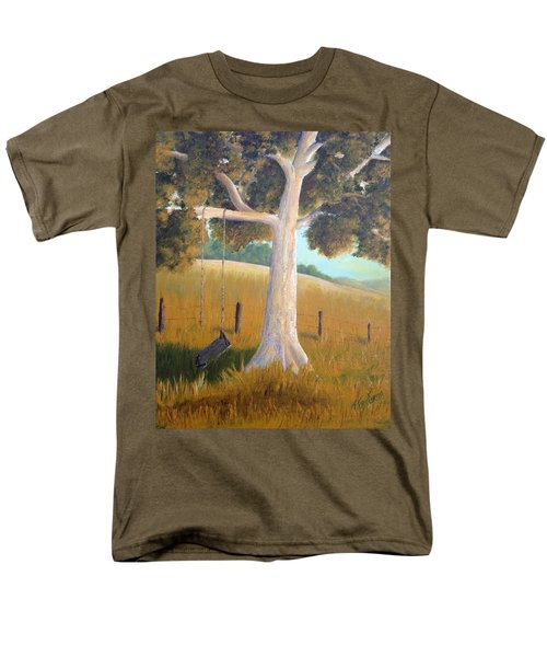 The Shadows Of Childhood Men's T-Shirt  (Regular Fit) by T Fry-Green