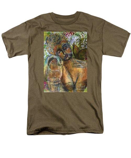 Golden Garden Men's T-Shirt  (Regular Fit) by Gail Butters Cohen
