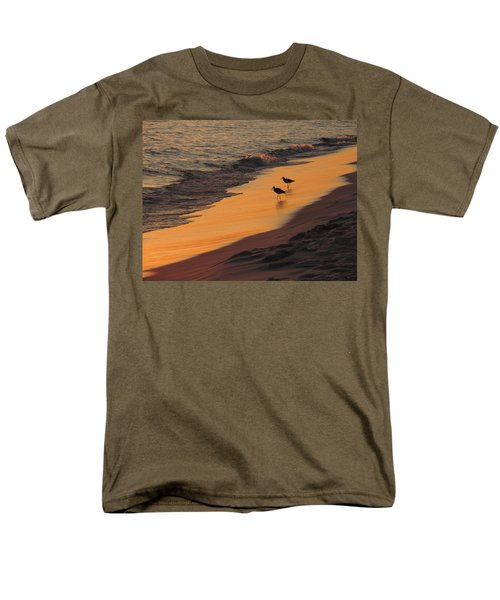 Men's T-Shirt  (Regular Fit) featuring the photograph Golden Light At Sunset by Teresa Schomig