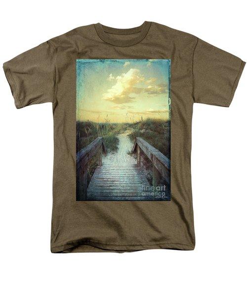 Golden Pathway Men's T-Shirt  (Regular Fit) by Linda Olsen