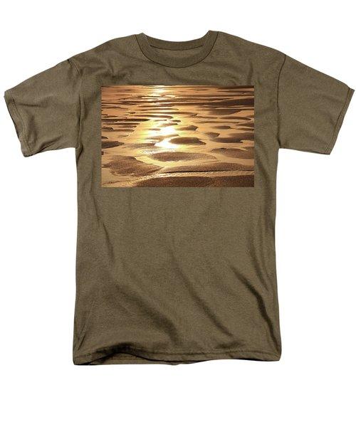 Golden Sands Men's T-Shirt  (Regular Fit) by Roupen  Baker