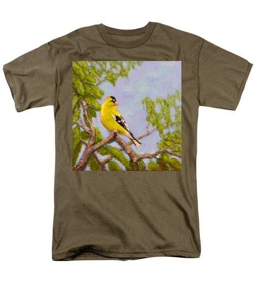 Goldfinch Men's T-Shirt  (Regular Fit) by Joe Bergholm