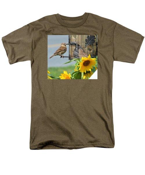 Good Morning Men's T-Shirt  (Regular Fit) by Jeanette Oberholtzer