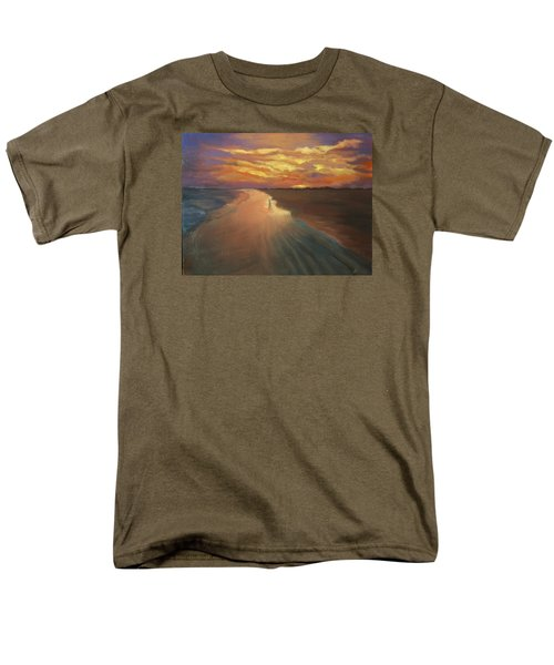 Men's T-Shirt  (Regular Fit) featuring the painting Good Night by Alla Parsons
