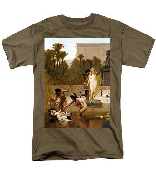 Goodall Frederik The Finding Of Moses Men's T-Shirt  (Regular Fit) by Frederick Goodall
