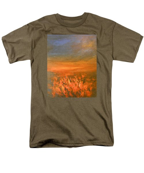 Men's T-Shirt  (Regular Fit) featuring the painting Goodbye by Jane See