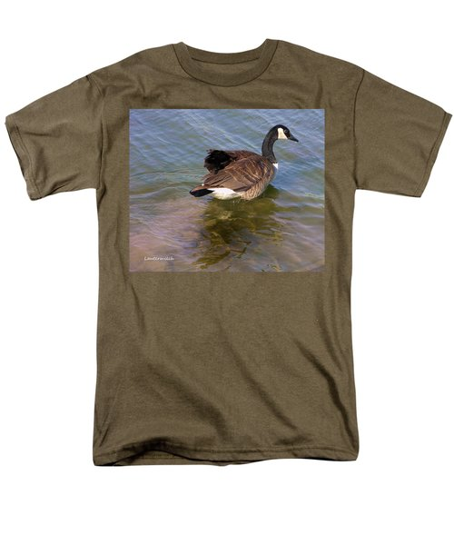 Goose Men's T-Shirt  (Regular Fit) by John Lautermilch