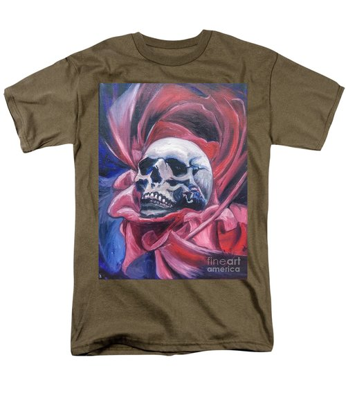 Men's T-Shirt  (Regular Fit) featuring the painting Gothic Romance by Isabella F Abbie Shores FRSA