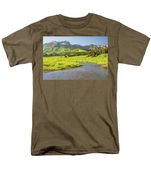 Gothic Valley - Early Evening Men's T-Shirt  (Regular Fit) by Eric Glaser