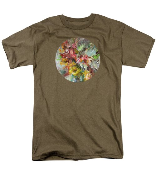 Men's T-Shirt  (Regular Fit) featuring the painting Grace And Beauty by Mary Wolf