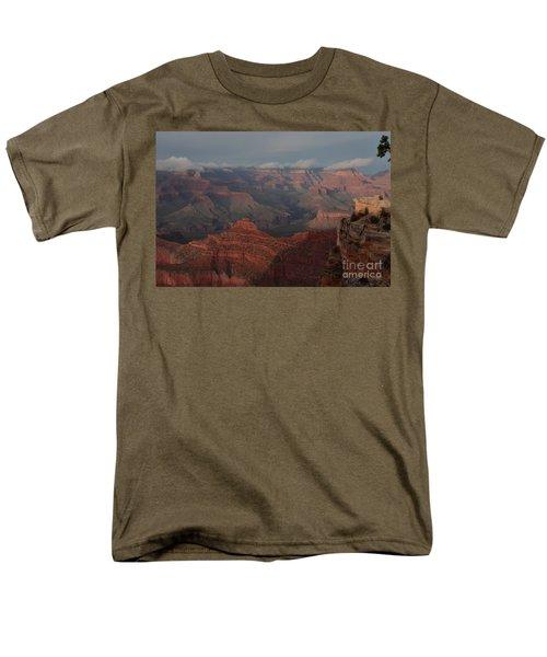 Men's T-Shirt  (Regular Fit) featuring the photograph Grand Canyon 1 by Debby Pueschel