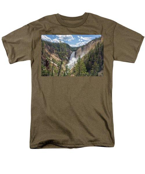 Grand Canyon Of Yellowstone Men's T-Shirt  (Regular Fit) by Alpha Wanderlust
