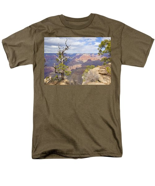 Men's T-Shirt  (Regular Fit) featuring the photograph Grand Canyon View by Chris Dutton