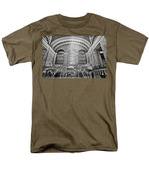 Grand Central Terminal Station Men's T-Shirt  (Regular Fit) by Susan Candelario