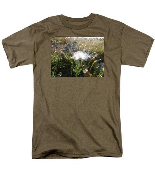 Men's T-Shirt  (Regular Fit) featuring the photograph Grand Manan Dandelion  by Joel Deutsch