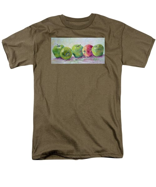 Grannie Smiths And A Gala Men's T-Shirt  (Regular Fit)