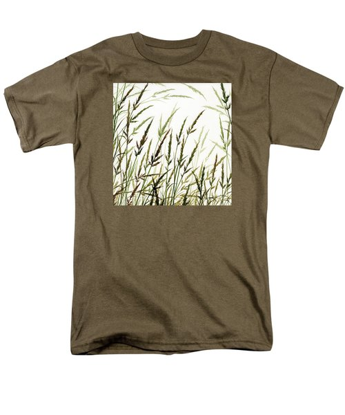 Men's T-Shirt  (Regular Fit) featuring the painting Grass Design by James Williamson
