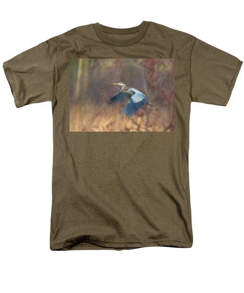 Great Blue Men's T-Shirt  (Regular Fit) by Kelly Marquardt