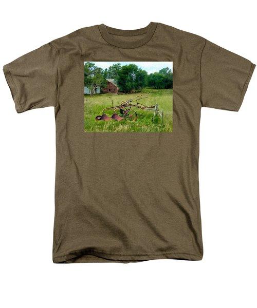 Great Grandpa's Plow Men's T-Shirt  (Regular Fit) by Ric Darrell
