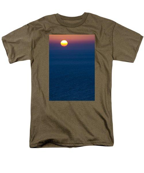 Greek Sunset Men's T-Shirt  (Regular Fit) by Rainer Kersten
