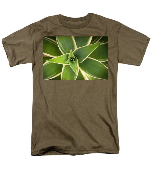 Green Agave Men's T-Shirt  (Regular Fit) by Catherine Lau