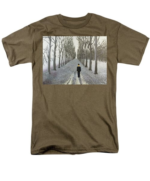Men's T-Shirt  (Regular Fit) featuring the painting Grey Day by Thomas Blood