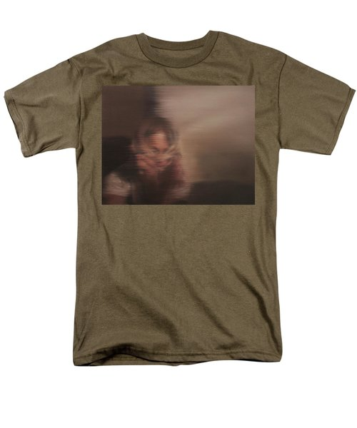 Men's T-Shirt  (Regular Fit) featuring the painting Guarded by Cherise Foster