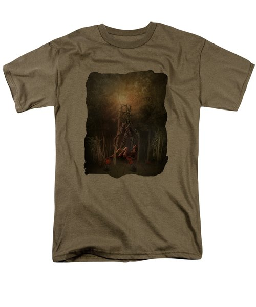Guardians Of The Forest Men's T-Shirt  (Regular Fit) by Terry Fleckney