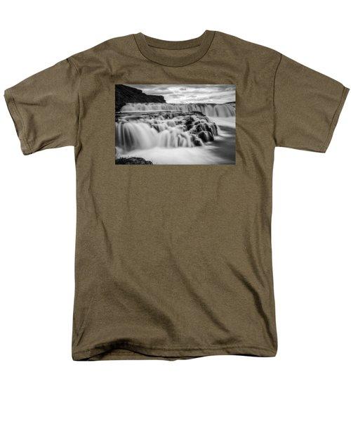 Gullfoss Men's T-Shirt  (Regular Fit) by Brad Grove