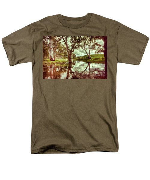 Men's T-Shirt  (Regular Fit) featuring the photograph Gum Creek V2 by Douglas Barnard