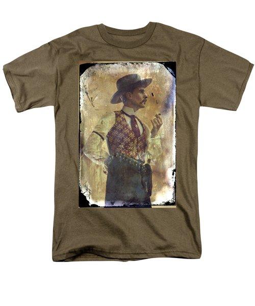 Gunslinger IIi Doc Holliday In Fine Attire Men's T-Shirt  (Regular Fit) by Toni Hopper