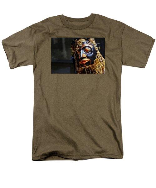 Haida Head Men's T-Shirt  (Regular Fit) by Cameron Wood